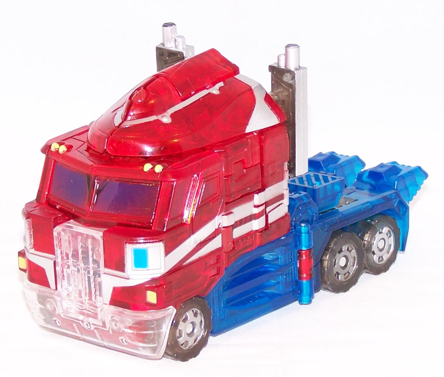 Crystal Convoy (Clear Optimus Prime)